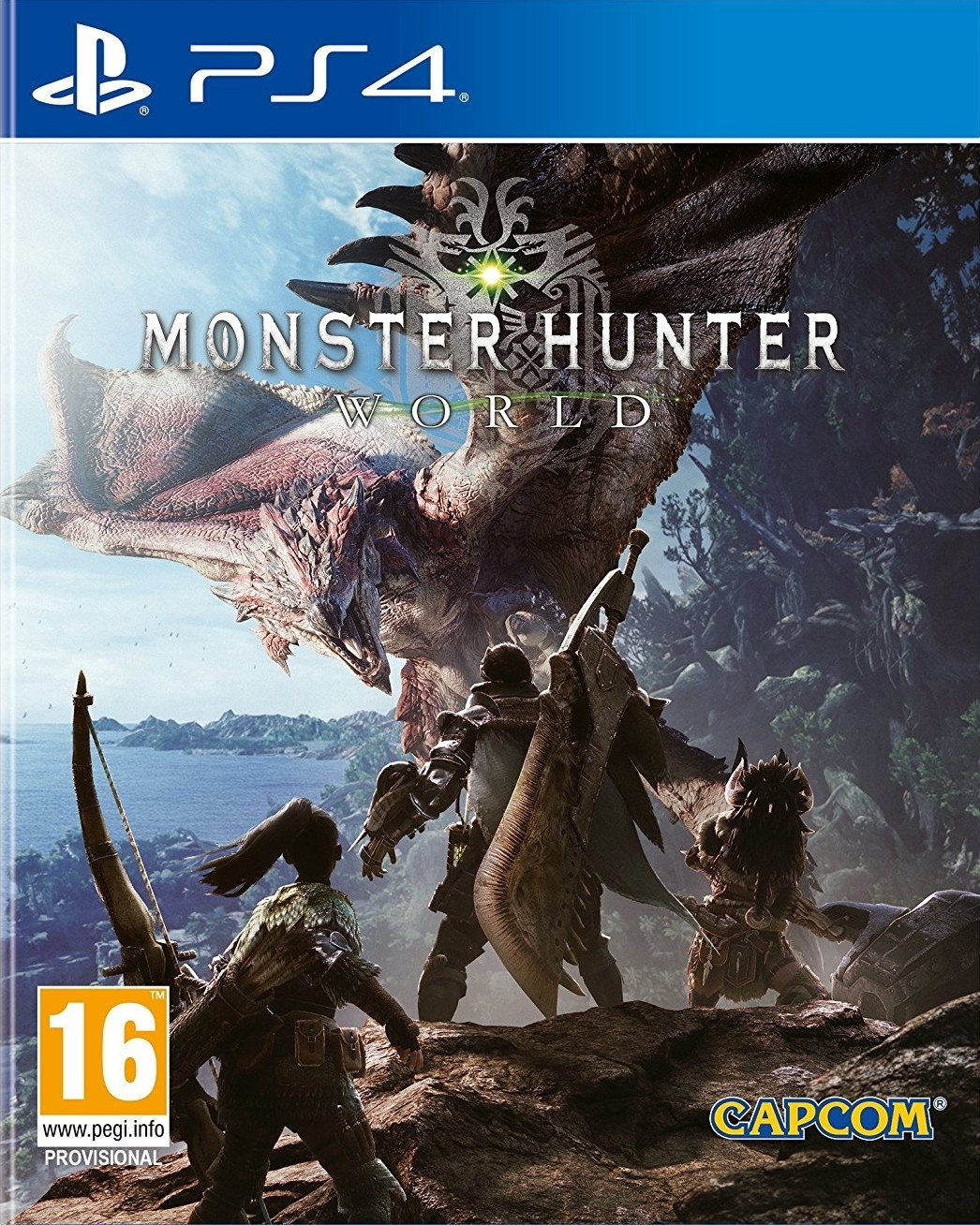 Monster Hunter World PL (PS4)